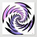 Tiger Tracks Purple Canvas Print