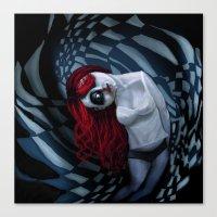 The Dark Side Of My Mind… Canvas Print