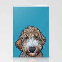 Seamus the Labradoodle Stationery Cards