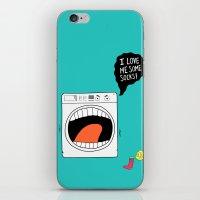 Sock Eater 1000 iPhone & iPod Skin