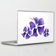 Island Flower Laptop & iPad Skin