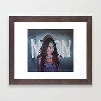 Stark Framed Art Print