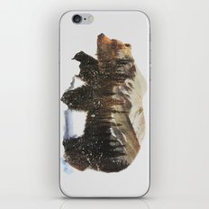 Arctic Grizzly Bear iPhone & iPod Skin