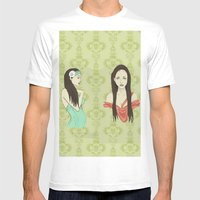 Princesas Mens Fitted Tee White SMALL