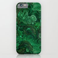 iPhone Cases featuring malachite by ravynka