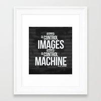 SMASH Framed Art Print