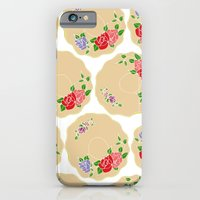 Vintage Saucers iPhone 6 Slim Case