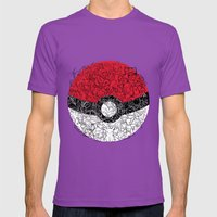 ONE BALL TO CATCH THEM ALL Mens Fitted Tee Ultraviolet SMALL