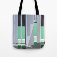 Rolling Through The Pine… Tote Bag