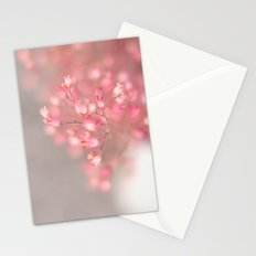 pink coral bells Stationery Cards