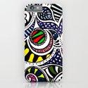 Swirly Gig iPhone & iPod Case