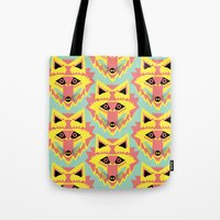 Fabulous Fox Tote Bag