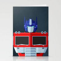 Autobots, Roll out! (Optimus Prime) Stationery Cards