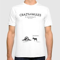 Crazy Old Mule / Metro G… Mens Fitted Tee White SMALL