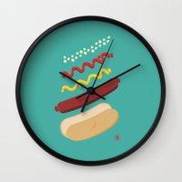 HUT DUG Wall Clock
