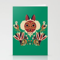 Mono Deco Stationery Cards