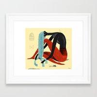 Braid 1 Framed Art Print