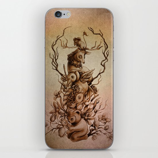 Cute Totem iPhone & iPod Skin