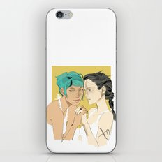 Magna and Alex iPhone & iPod Skin