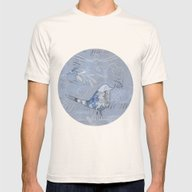 Wonderbird Mens Fitted Tee Natural SMALL