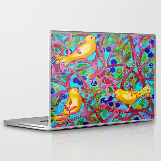 Birds & Berries Laptop & iPad Skin