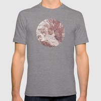 Planetary Bodies - Red Rock Mens Fitted Tee Tri-Grey SMALL