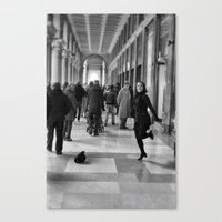 Tip Tap dancer Canvas Print