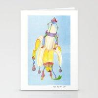 Banana Peeler Stationery Cards