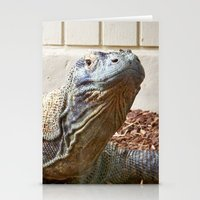 Komodo Dragon Stationery Cards