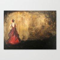 Spanish Dancer Canvas Print
