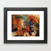 Untamed Passion Framed Art Print