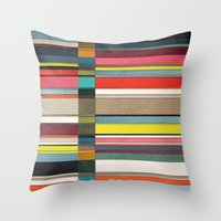 colorsplit 2 Throw Pillow