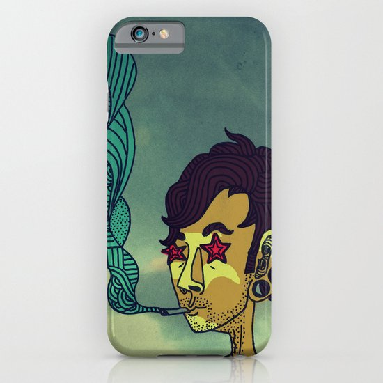 """Today His Hair Fell Just the Right Way, So he Rewarded Himself With a Blueberry Bagel"" iPhone & iPod Case"