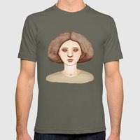 Café Lady Mens Fitted Tee Lieutenant SMALL