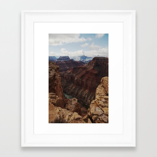 Marble Canyon Framed Art Print