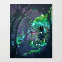 Bunny Aint No Kind Of Rider Canvas Print