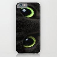 Green Cat Eyes iPhone 6 Slim Case
