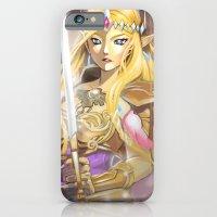 zelda iPhone & iPod Cases featuring Zelda by Mika