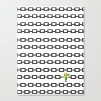 The Legend of Zelda: Linked Canvas Print