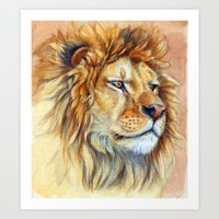 Lion 851 Art Print