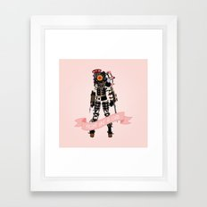 Fight Like a Girl: Big Sister Framed Art Print