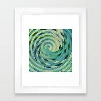 Turned Framed Art Print