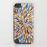 Watercolor Burst – Ret… iPod touch Slim Case