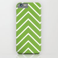 Lime Chevron iPhone 6 Slim Case