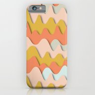 Colorful Waves iPhone 6 Slim Case