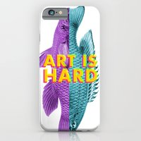 Art Is Hard - Fish iPhone 6 Slim Case