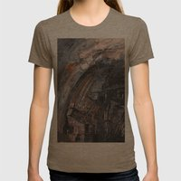 Abstract 2014/11/26 Womens Fitted Tee Tri-Coffee SMALL