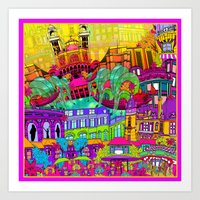 I Heart Paris Art Print