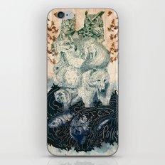 The Forest Folk iPhone & iPod Skin