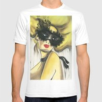 Masquebal Mens Fitted Tee White SMALL